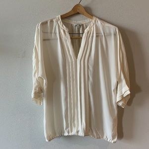 Joie 100% Silk blouse size Medium